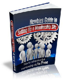 Newbies Guide To Membership Sites image