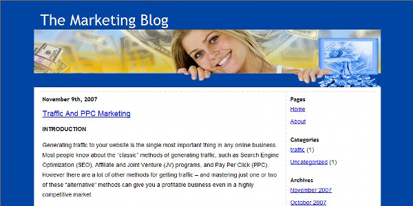 Marketing Theme Image